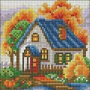 Autumn House - Diamond Mosiac Kit