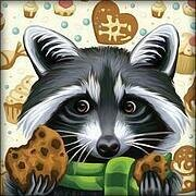 Sweet Tooth Raccoon - Diamond Mosiac Kit