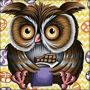 Sweet Tooth Owl - Diamond Mosiac Kit