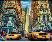 Taxis In New York - Diamond Mosiac Kit