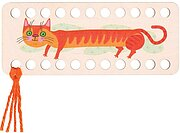 Buratini Thread Organizer - Orange Cat