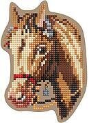 Horse - Wooden Cross Stitch Kit