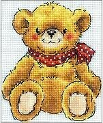 Teddy Bear - Cross Stitch Kit