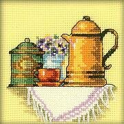 Cup Of Coffee In The Morning - Cross Stitch Kit