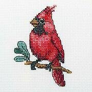 Cardinal Bird - Cross Stitch Kit