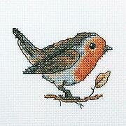 Redbreast - Cross Stitch Kit