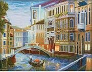 Night Venice - Cross Stitch Kit