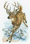Forest Deer - Cross Stitch Kit