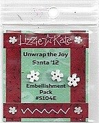 Embellishment Pack for Unwrap the Joy