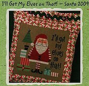 I'll Get My Elves on That - Cross Stitch Pattern