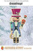 Drosselmeyer Nutcracker Ornament - Cross Stitch Kit