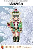 Nutcracker King Ornament - Cross Stitch Kit