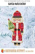 Santa Nutcracker Ornament - Cross Stitch Kit