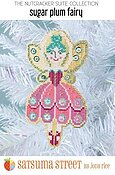 Sugar Plum Fairy Nutcracker Ornament - Cross Stitch Kit