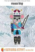 Mouse King Nutcracker Ornament - Cross Stitch Kit