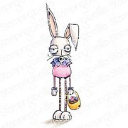 Oddball Easter Bunny - Cling Stamp