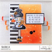 Oddball With A Sweet Tooth - Cling Stamp