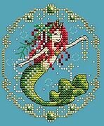 August - Treasures of the Deep - Cross Stitch Pattern