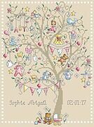 Baby Girl Tree - Cross Stitch Pattern