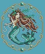 December - Treasures of the Deep - Cross Stitch Pattern