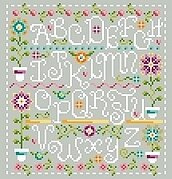Funky Spring - Cross Stitch Pattern
