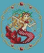 January - Treasures of the Deep - Cross Stitch Pattern