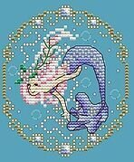 June - Treasures of the Deep - Cross Stitch Pattern