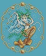 November - Treasures of the Deep - Cross Stitch Pattern