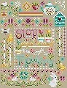Pretty Flowers Sampler - Cross Stitch Pattern