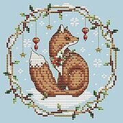 Woodland Fox - Cross Stitch Pattern