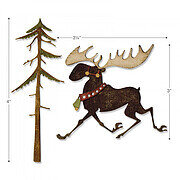 Tim Holtz Thinlits Christmas Craft Die - Merry Moose