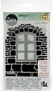 Window Box - Sizzix Impresslits Embossing Folder