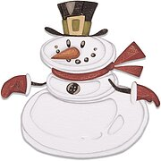 Colorize Mr. Snowman - Christmas Tim Holtz Thinlits Dies