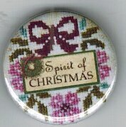 Spirit of Christmas Mystery Sampler Zappy Dots Needle Nanny