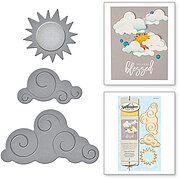 Spellbinders D-Lites Die - Sun and Clouds