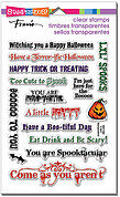 Spooky Wishes Perfectly Clear Stamps Set