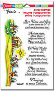 Blessed Nativity Perfectly Clear Stamps Set