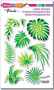 Jungle Greenery Perfectly Clear Stamp