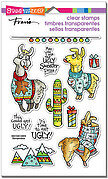 Llama Sweaters - Christmas Perfectly Clear Stamp