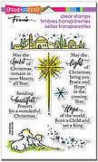 Light And Hope Christmas - Christian Perfectly Clear Stamp