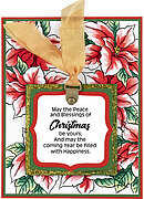 Blessed Christmas - Perfectly Clear Stamp
