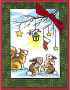 Critter Christmas - Perfectly Clear Stamp
