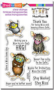 Masked Mice - Perfectly Clear Stamps