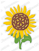 Sunflower - Impression Obsession Craft Die