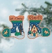 Let it Snow - Beaded Cross Stitch Kit
