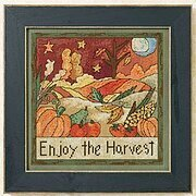 Enjoy The Harvest - Beaded Cross Stitch Kit