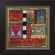 Today is the Day - Beaded Cross Stitch Kit