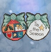 Tis the Season - Beaded Cross Stitch Kit