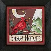 Enjoy Nature - Beaded Cross Stitch Kit