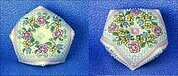 Summer Flowers Biscornu Pincushion - Cross Stitch Pattern